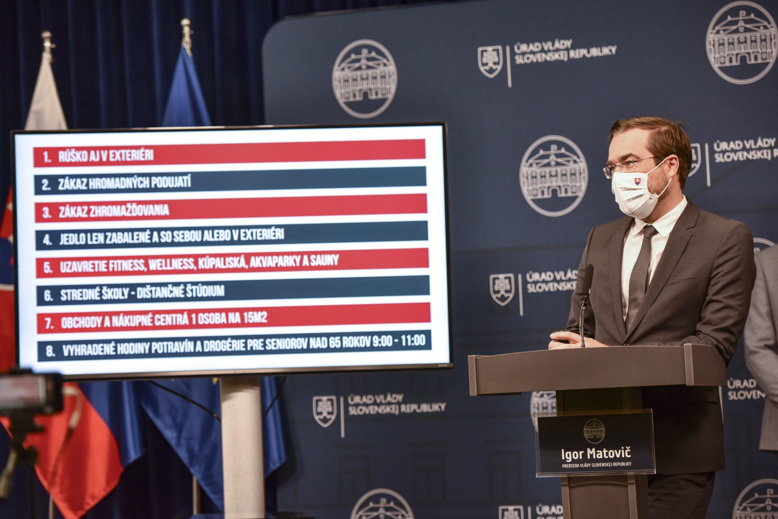 Nové opatrenia v boji proti pandémii