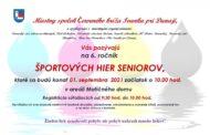 Športové hry seniorov v Ivanke pri Dunaji