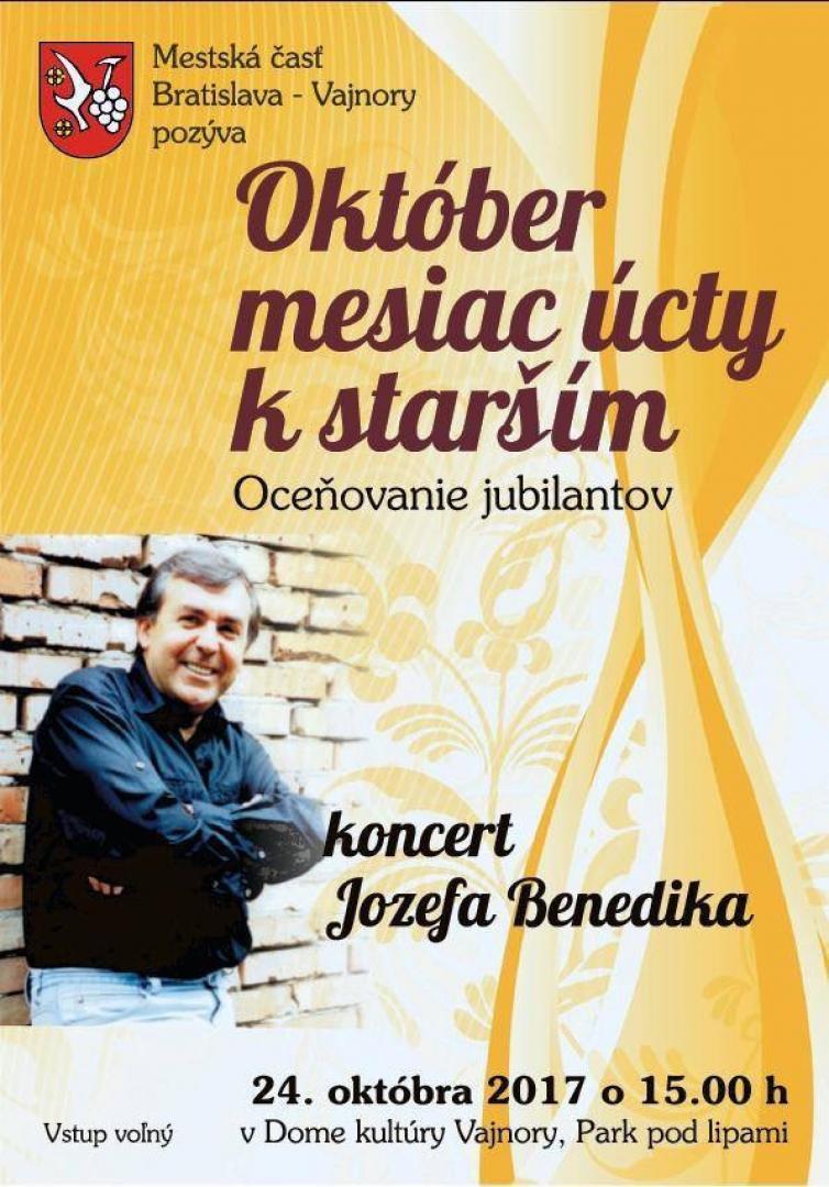 Jozef Benedik vo Vajnoroch