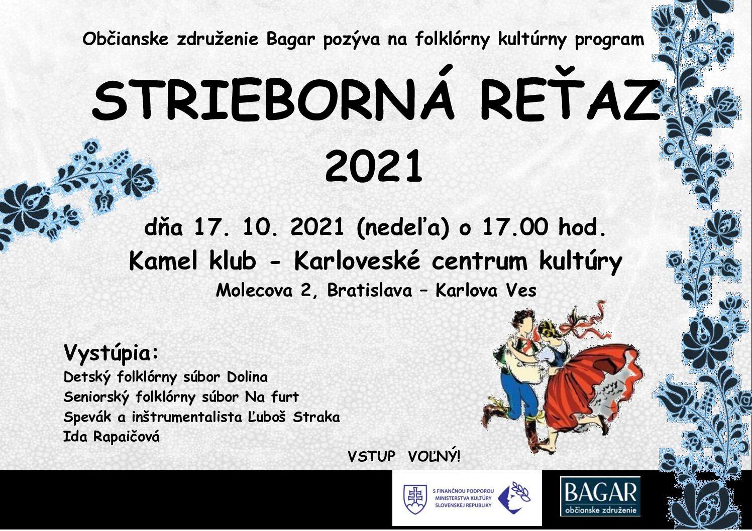 Strieborná reťaz 2021 v Bratislave